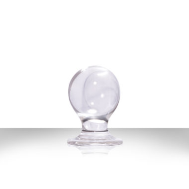 NS Novelties Orbite Small Anal Plug Clear