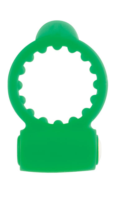 Pipedream Neon Vibrating Cockring Green