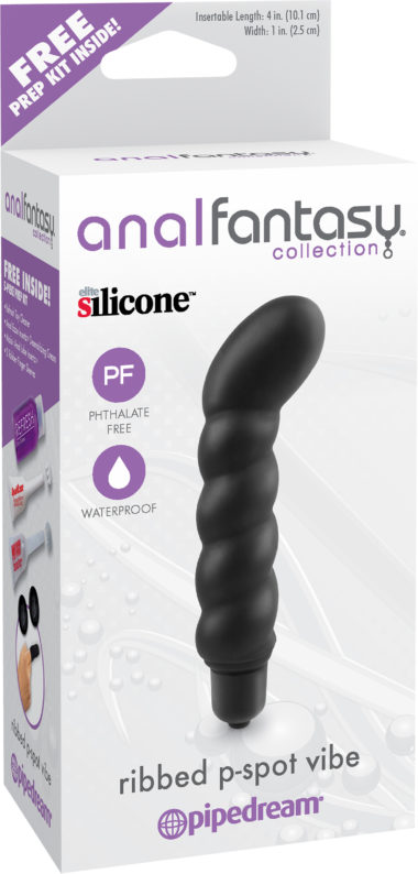 Pipedream Anal Fantasy Ribbed P-Spot Vibe