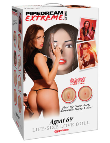 Pipedream Extreme Agent 69 Life-Size Love Doll