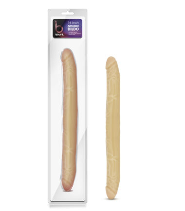 "Blush Novelties B Yours 16"" Double Dildo"