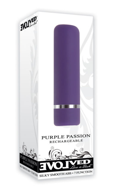 Evolved Novelties Purple Passion Rechargeable Bullet
