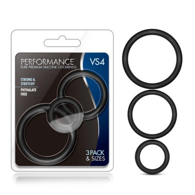 Performance VS4 Pure Premium Silicone Cockring Set