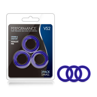 Performance VS2 Pure Premium Silicone Small Cockring Set